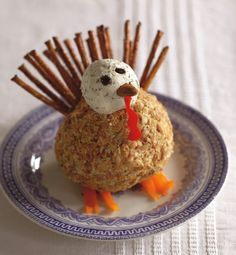 GOTTA try this for Thanksgiving ... Herbed Turkey Cheese Ball