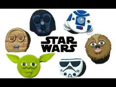 STAR WARS CUPCAKES: TUTORIAL | Marcos Soler - YouTube