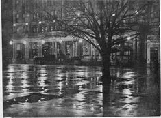 Photographer, Alfred Stieglitz, The Plaza, 1896