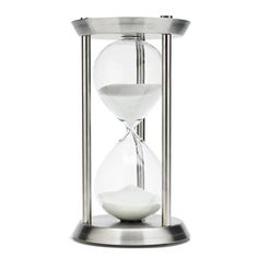 River City Clocks 1360SS Sixty Minute Hourglass Timer