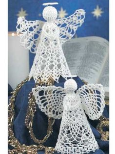 Pair of Gorgeous Angels  FREE Pattern