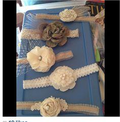 Handmade hair accessories made by Pri