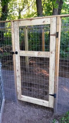 Chicken Run Door