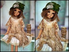 Kaye wiggs miss outfit MSD by JazzyRagsFran on Etsy