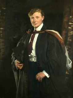 """Miss Ellen Charlotte Higgins"" by Sir William Orpen. Royal Holloway, University of London."