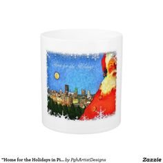 """Home for the Holidays in Pittsburgh"" Coffee Mug"