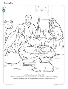 Baby Jesus Coloring Pages Luxury Primarily Inclined Primary 2 Lesson 7 the Birth Of Jesus Nativity Coloring Pages, Jesus Coloring Pages, Coloring For Kids, Colouring Pages, Adult Coloring Pages, Coloring Books, Free Coloring, Mandala Coloring, Birth Colors
