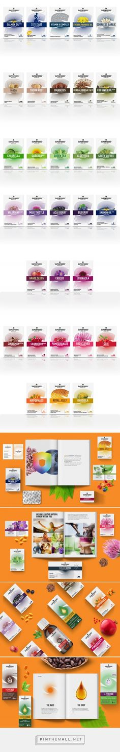 Super Foods Nature's Best #packaging #design by MILK Branding Professsionals - https://www.packagingoftheworld.com/2018/03/super-foods-natures-best.html