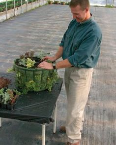How to Build a Hanging Basket | Fine Gardening