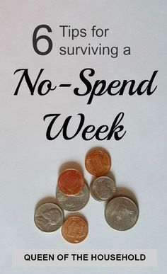 Are you ready to save some money? Try a no-spend week. It doesn't have to be difficult. Check out these doable tips!
