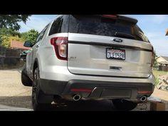 2011-2015 Ford Explorer Class III Trailer Hitch install BB5Z-19D520-AA 2012 2013 2014 - YouTube