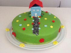 House warming cake / Zur Hauseinweihung!