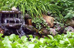 16 best fuentes de agua images on Pinterest | Backyard ponds, Water ...