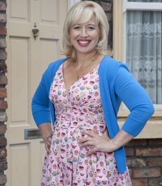 Katy Cavanagh as Julie Carp in Coronation Street