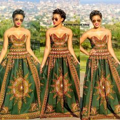 Gorgeous Maxi dress from the African Shop on fb African Inspired Fashion, African Print Fashion, Africa Fashion, African Prints, African Attire, African Wear, African Dress, African Style, African Dashiki