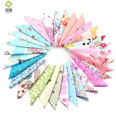 Cotton Fabric Telas Patchwork Fabric Charm Quarter Bundles Fabric For Sewing  DIY Crafts Patchwork Pillow10*10cm 30pcs/lot *** See this great product.