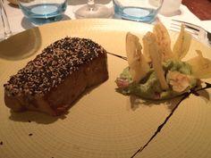 Buenísimo el tataki de atún del Restaurante La Polpa, en Barcelona