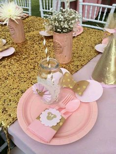 Possible table setting decoration