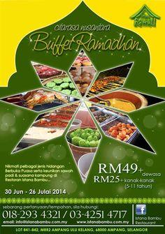 Citarasa Nusantara Buffet Ramadhan @ Istana Bambu