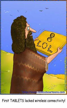 ColdCuts Cartoons Ancient Tablets