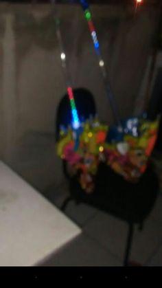Sombrinhas muito bem feitas com LED Novas e muito bem feitas