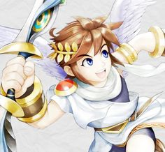 Pit Kid Icarus Uprising