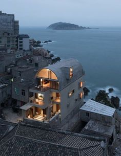 Vector Architects, Captain's House, Huangqi Peninsula, Fujian Province Haus Vektor, Renovation Design, Ancient Chinese Architecture, House Tours, Interior And Exterior, Room Interior, Interior Design, Architecture Design, System Architecture