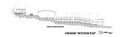 Imagem 18 de 18 da galeria de Colégio Octavio Paz / Ricardo Espinosa Arquitectos. Corte Longitudinal
