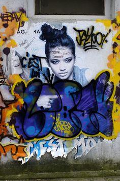 Vitry-sur-Seine - place Jean Martin - street art - nebay