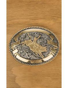 Gold Oval Rodeo Bullfighting Belt Buckles for Men Women Western Cowboy Bull Belt Buckle
