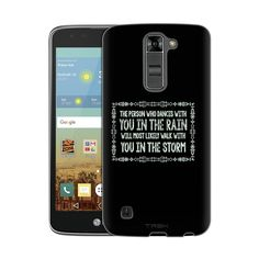 LG K8 Dancing in the Rain Chalk Slim Case