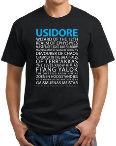 Magic Tavern Usidore T-shirt