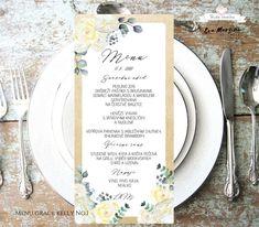 Svatební oznámení s krémovými a béžovými květy s lístky v přírodním stylu rustic vintage. Autorská tvorba od www.BudeVeselka.cz. Grace Kelly, Chutney, Rage, Chutneys