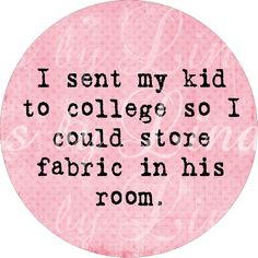 """NEW Knitting and Sewing Quotes: 1 inch round by DesignsbyLindaNee :: Chg. this for any art, skill, """"pasttime"""" or hobby!!! For instance, """"make a studio of her room,"""" etc.!!!"""