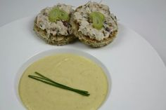 I made a corn velouté with hand picked corn. Served it with a crab toast. Toast, Cooking, Ethnic Recipes, Food, Kitchen, Cuisine, Koken, Meals, Brewing