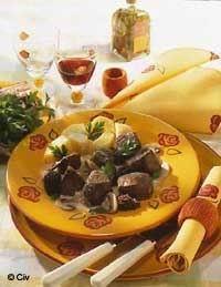 Recette Boeuf mariné à la crème de morilles : les ingrédients, la préparation et la cuisson de la recette Boeuf mariné à la crème de morilles - Infos: préparation 48 h...