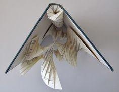 "UnBound: A Paper Art Blog: ""Vector Analysis"" Altered Book: part 2"