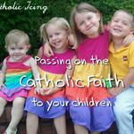 Catholic Icing:  Ideas for everyday activities to pass on the Catholic faith to our children, also a preschool homeschooling program available for purchase or partial downloads