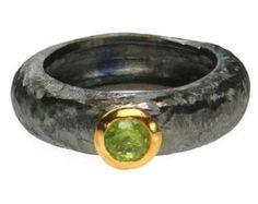 Sterling silver 925 handmade custom ring gold by silverjewelrygr