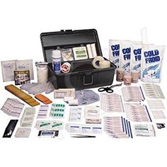 Team Sports Injury First Aid Medical Kit -Weather and Water-Resistant: Amazon.ca: Industrial & Scientific