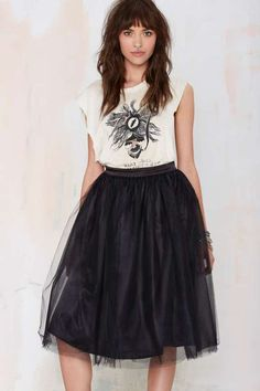 Nasty Gal So Meshed Up Midi Skirt - What's New