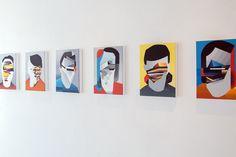 Tobias Kroeger, Playground at Hugo45 Gallery, 2016 #tobiaskroeger #exhibition #kroeger #art