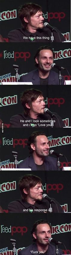 TWD // Norman Reedus & Andrew Lincoln