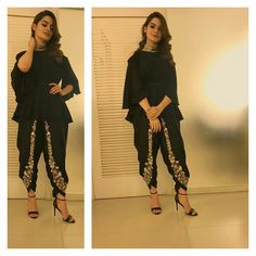 Minal khan. AsMa Mujeer Star Fashion, Trendy Fashion, Winter Fashion, Womens Fashion, Design Girl, Design Model, Pakistani Fancy Dresses, Western Dresses, Bollywood Fashion