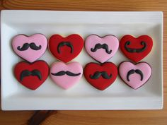 Moustaches (Heart Cookie Cutter)