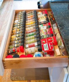 The Spice Drawer