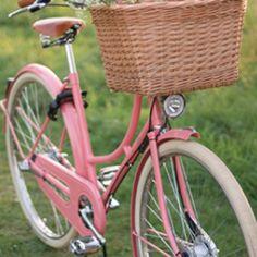 Vintage bike, not pink though.