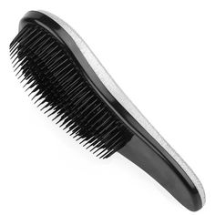 Beauty Detangling Hair Brush- Hair Comb - Wet or Dry Hair Brush - Professional Styling Tool-for Adult and Children (Silver) *** Learn more by visiting the image link. #hairstylist #hairbrush