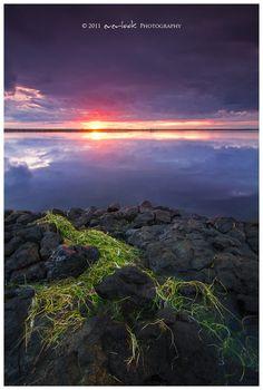 Sunset in Kopasker, Nordur-Tingeyjarsysla_ Iceland