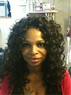 Tree Braids / Interlock Braids using Freetress Cozy Deep Curl hair ...